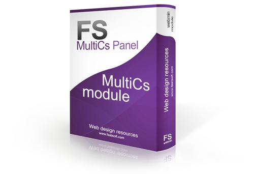 MultiCs Panel Demo - FaalSoft